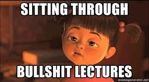 Nursing Home Meme - sitting through bullshit lectures nursing home report meme