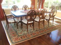 Wallpaper For Dining Room Dining Room A Wondrous Monochromatic Area Rugs For Dining Room