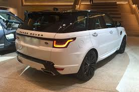 range rover svr black new range rover sport arrives at la motor show autocar
