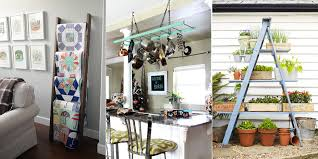 Vintage Decorating Ideas For Home How To Decorate With Vintage Ladders Ways To Organize With Old