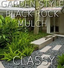 Black Garden Rocks Black River Rocks