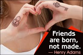 friendship tattoos for girls