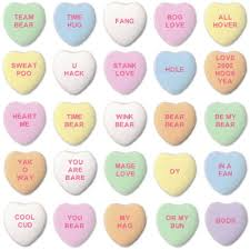 candy hearts stank wig and other sayings from ai generated candy