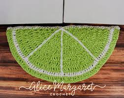 Half Round Kitchen Rugs Half Circle Rug Etsy