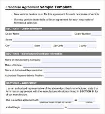 Microsoft Excel Form Templates Franchise Agreement Template Sle Template Microsoft Office