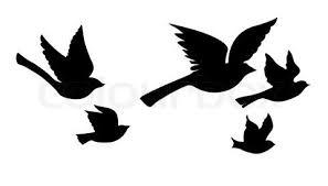 4 silhouette tattoo designs
