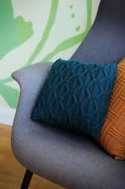 Patterns For Knitted Cushion Covers 72 Best Almofadas Em Tricot Images On Pinterest Knitting