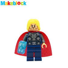 wholesale 20pcs thor odinson with blue hammer marvel super heroes