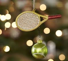 tennis ornament pottery barn