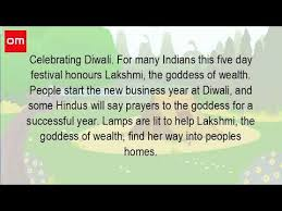how do we celebrate diwali festival