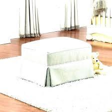 slipcover for oversized chair oversized ottoman covers ottomans stretch pique oversized ottoman
