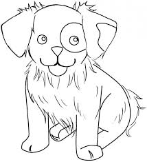 dog printable coloring pages cute puppy print cute baby