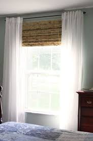 Blinds And Curtains Modifying Bamboo Shades To Fit Your Windows Window Living Rooms