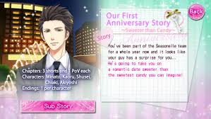 Our Two Bedroom Story Kaoru Our First Anniversary Story Voltage Inc Wiki Fandom Powered By