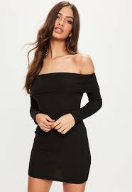 off the shoulder dresses bardot dresses online missguided