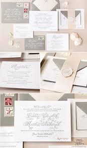 Wedding Invitations Long Island Best 25 Formal Calligraphy Letterpress Wedding Invitations Ideas