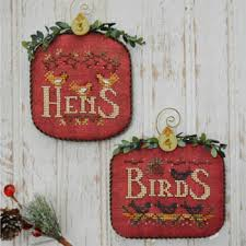 12 days of cross stitch patterns kits 123stitch