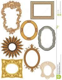 Decorative Frames Collection Stock Illustration Illustration of