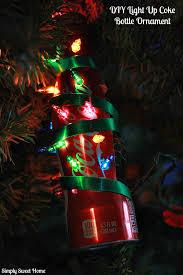 a coca cola and 2 diy coke bottle ornament
