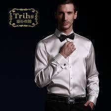 online get cheap mens white dress shirt french cuff aliexpress
