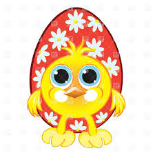 funny chicken and easter egg vector image 7836 u2013 rfclipart