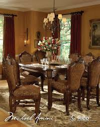 buy lavelle melange dining room set by aico from www dining room