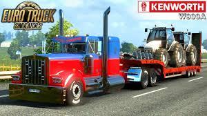 euro truck simulator 2 kenworth w900a custom youtube