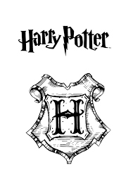 free printable harry potter coloring pages kids
