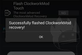 clockworkmod apk flash install clockworkmod recovery on android phone tablet cwm