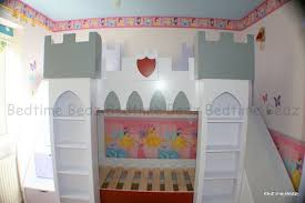Castle Bunk Bed With Slide Childrens Theme Beds And Furniture Girls And Boys Quality Novelty