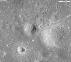 Can You See The Us Flag On The Moon Mapping The Apollo Landing Sites Then And Now Popular Science