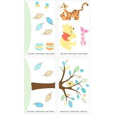 walmart wall decor stencils the pooh wall decal quotes decals tree