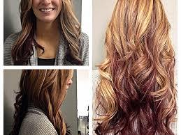 brown with red underneath hair blonde hair blonde hair with dark underneath pictures elegant