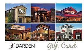 darden restaurants gift cards 50 darden gift card for 41 olive garden longhorn steakhouse