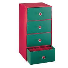 christmas ornament storage neu home 4 drawer storage chest 9607w 1 the home depot
