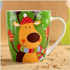 Buy Coffee Mugs by Blue Coffee Mug Aliexpresscom Buy Top Grade Ceramic Christmas Mugs