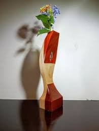 Test Tube Vase Holder Closing Down Sale Curved Wood Vase Bud Vase Test Tube Vase