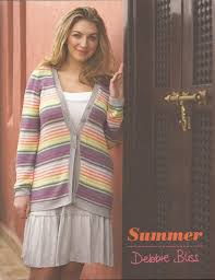 debbie bliss knitting pattern book summer 12 relaxed knits for