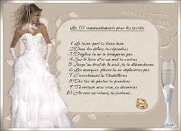 texte felicitation mariage humour 10 commandements pour les invités aurélie et fabien mariage le