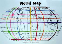 latitude map a grid on our earth an exploration on map grids layers of learning