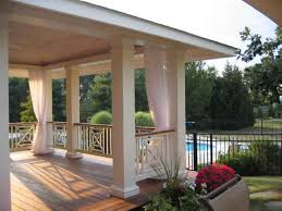 Mosquito Curtains For Porch Porch Screens Using Outdoor Mesh Curtains Attachment Options