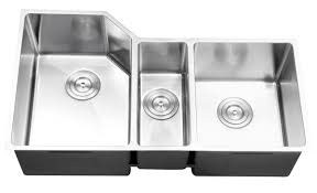 ruvati rvc2582 stainless steel kitchen sink and chrome faucet set