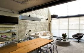 Modern Open Kitchen Living Room Designs Stylish Industrial Open Kitchen Design Beside Living Room With
