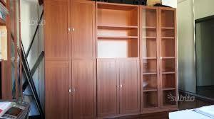 ovvio librerie 5 librerie ovvio in legno tinta ciliegio arredamento e