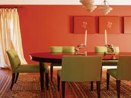 orange dining room burnt orange home decor orange dining room