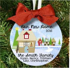 personalized new home christmas ornament custom made for new house