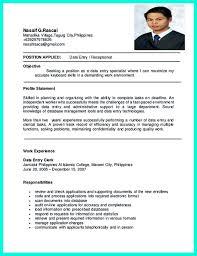 resume sample for data entry operator basic markcastro co data entry skills for resume free resume your data entry resume is the essential marketing key to get the data entry resume
