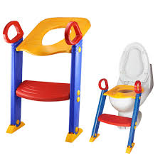 Orange Bathroom Accessories Uk by Children Toddler Foldable Kit Toilet Trainer With Ladder