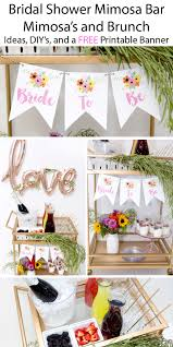 brunch bridal shower ideas mimosa s and brunch bridal shower lillian designs