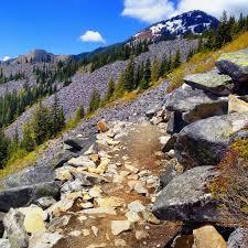 Mount Washington Trail Map by Ira Spring Trail Mason Lake Location Snoqualmie Pass